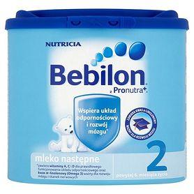 Bebilon 2 z Pronutra+  – nr 1 rekomendowany przez pediatrów