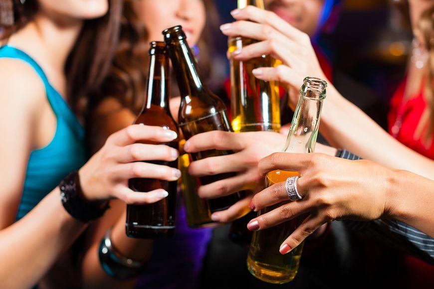 Picie alkoholu działa rozgrzewająco - fałsz
