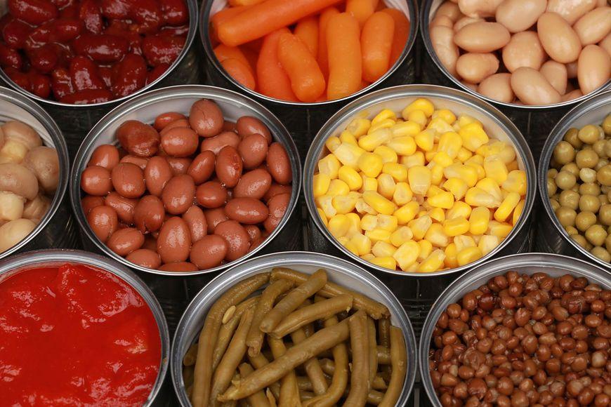 Warzywa z puszek należy płukać z nadmiaru soli