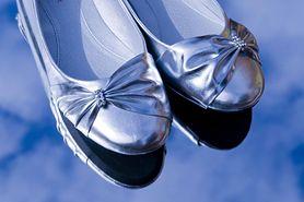 Srebrne balerinki - idealne na koniec lata