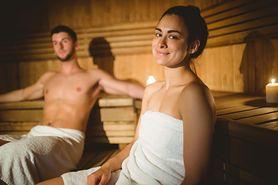 Plucha i zimno. A może do sauny?