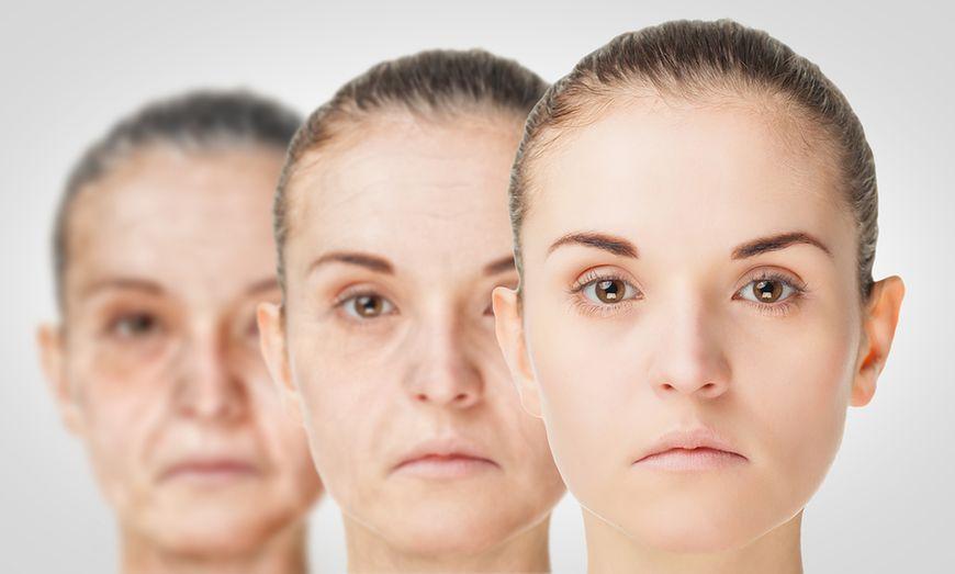 Kobiety o skórze w różnej kondycji