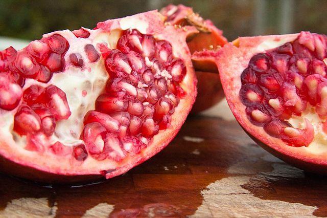 Granaty obniżają poziom cholesterolu