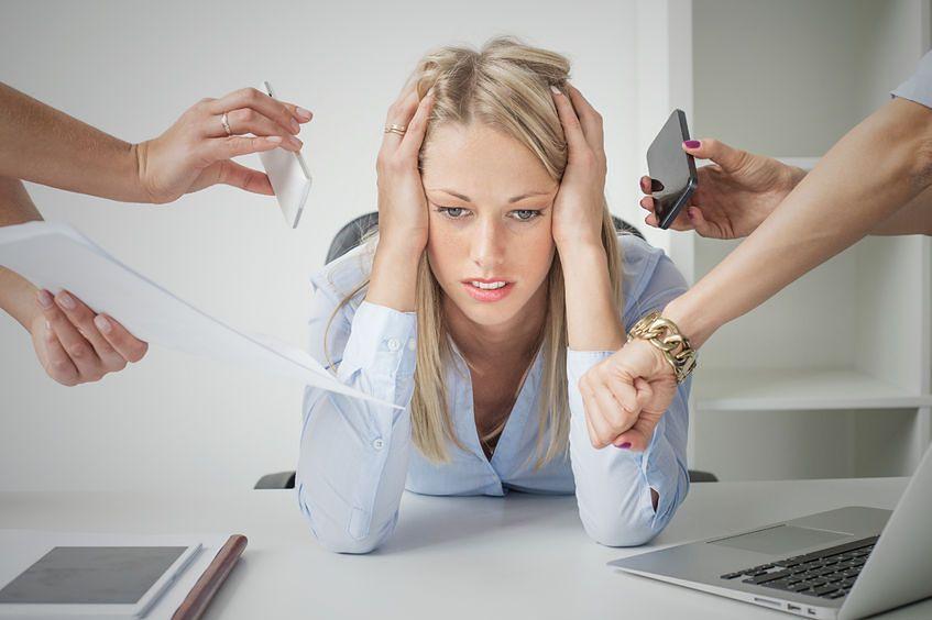 Włosy mogą wypadać z powodu stresu