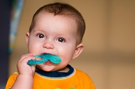 Biegunka przy ząbkowaniu