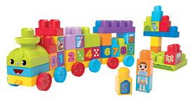 Wszechstronny rozwój i doskonała zabawa z Edukacyjnym pociągiem 1-2-3