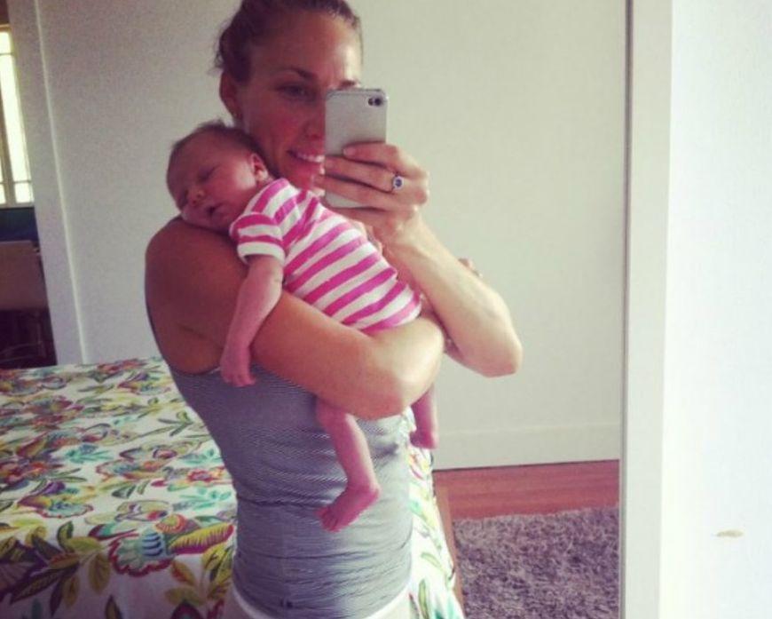 Kobieta w pierwszych miesiącach życia karmiła piersią