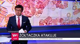 Ogromny wzrost zachorowań na WZW typu A (WIDEO)