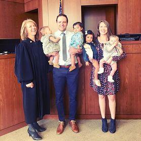 Adoptowali czwórkę dzieci w ciągu 24 godzin