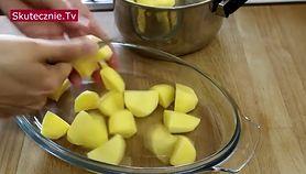 Ziemniaki z serem camembert i rozmarynem (WIDEO)