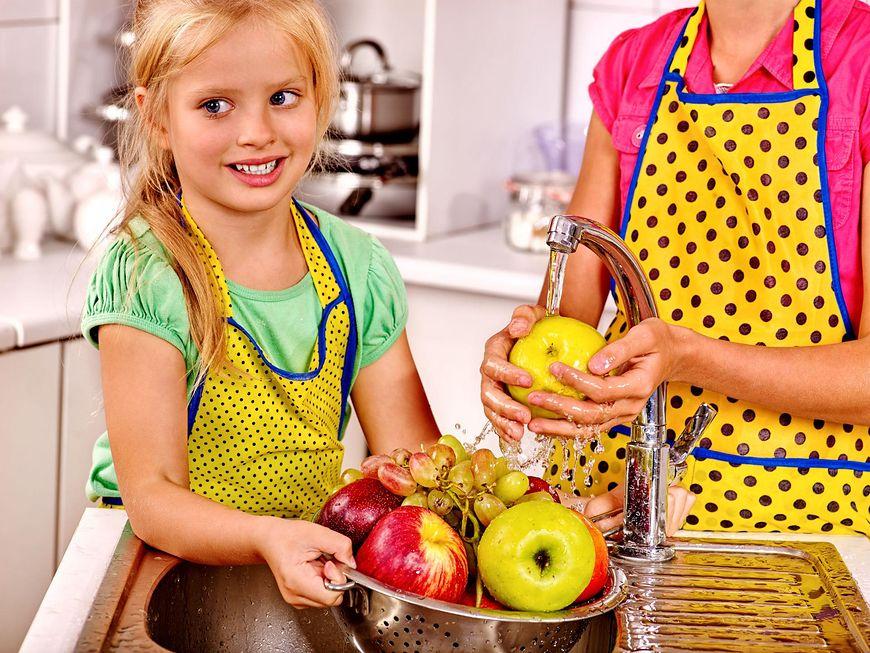 Mycie warzyw i owoców to podstawa zdrowej diety
