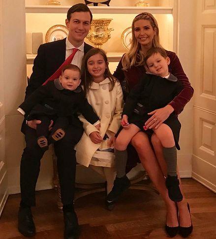 Ivanka Trump jako mama