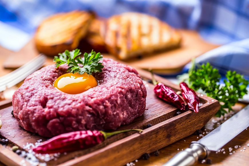 Wybór mięsa na tatar