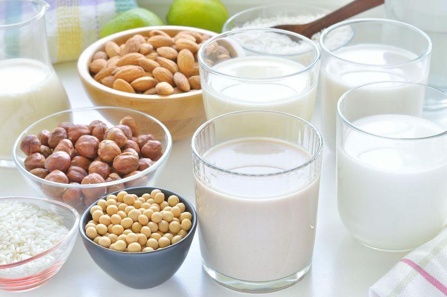 Mleko z orzechów laskowych