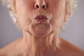 Kobieta, która czuje zapach choroby