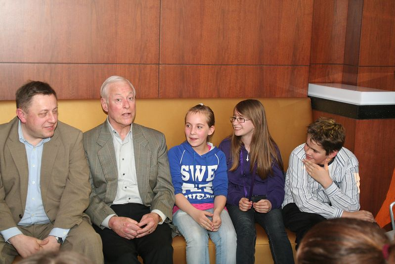 Brian Tracy wspiera dzieci w drodze po sukces