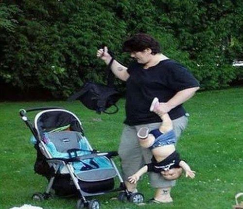 Skrajna nieodpowiedzialność młodej matki