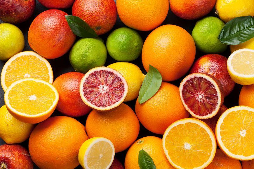 Owoce cytrusowe są pełne witamin i składników mineralnych