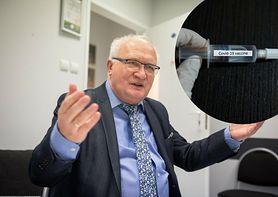 """Prof. Simon o odporności na koronawirusa po szczepionce: """"Nie zakładamy, że będzie dłuższa niż 2-3 lata"""""""