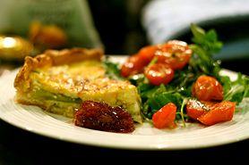 Tarta z szynką i serem