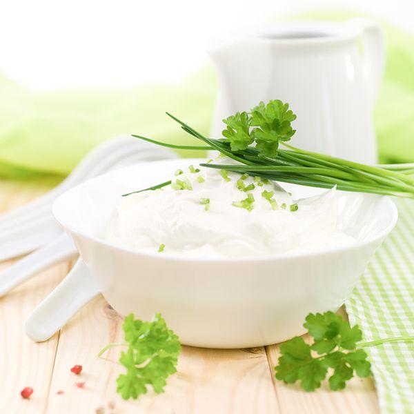 Twaróg i jogurt grecki
