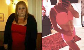 Schudła, bo partner ją zdradzał. Zrzuciła 100 kg