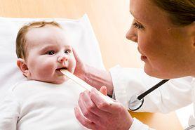 Ból gardła u niemowląt