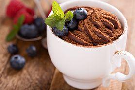 Zdrowy czekoladowy budyń