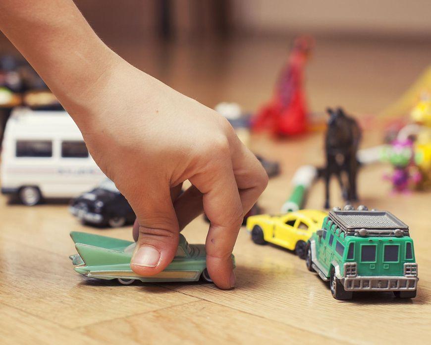 Dzieci mają coraz więcej zabawek