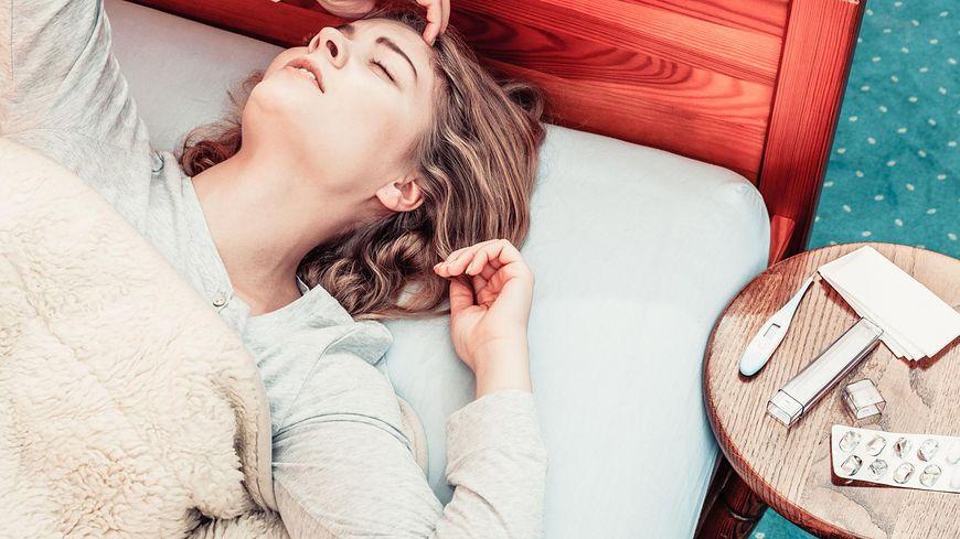 Gorączka jest częstym symptomem przeziębienia