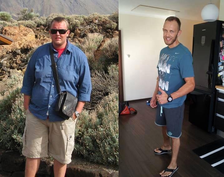 Bartek ze 134 kg schudł do 80. Dziś pomaga schudnąć innym