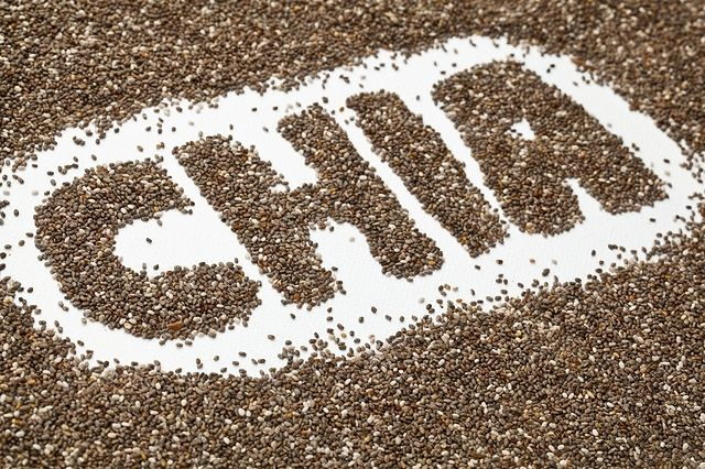 Zdrowe nasiona chia