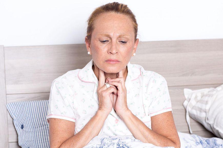 Ból gardła może pojawiać się przy refluksie