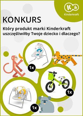 Chcesz wygrać huśtawkę lub rowerek biegowy dla swojego dziecka? Weź udział w konkursie!
