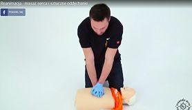 Reanimacja - masaż serca i sztuczne oddychanie (WIDEO)