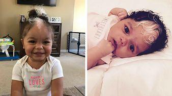 Pomalowała 18-miesięcznej córce włosy? Prawda jest dużo bardziej zaskakująca