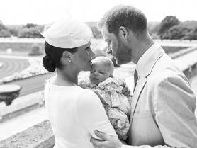 Meghan Markle w białej sukni Diora na chrzcie Archiego. Wspaniała inspiracja dla wszystkich mam!