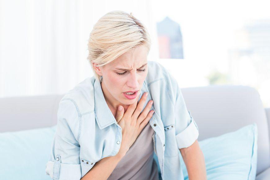 Problemy z układem oddechowym