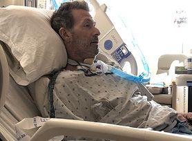 Z powodu COVID-19 amputowano mu palce. To cud, że żyje. Lekarze dawali mu 1 proc. szans