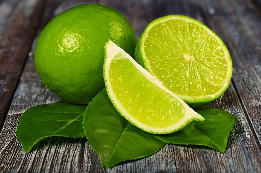 Gładka skórka limonki