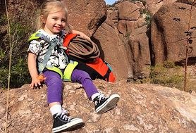 Macierzyństwo i przygoda. Zobacz zdjęcia z górskich wypraw mamy i córki