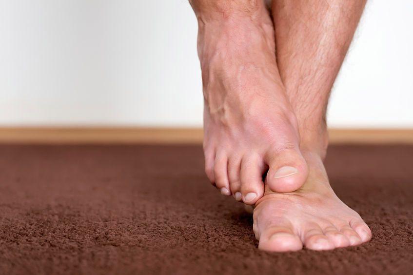 Kształt stóp może rzutować na towarzyszące im dolegliwości