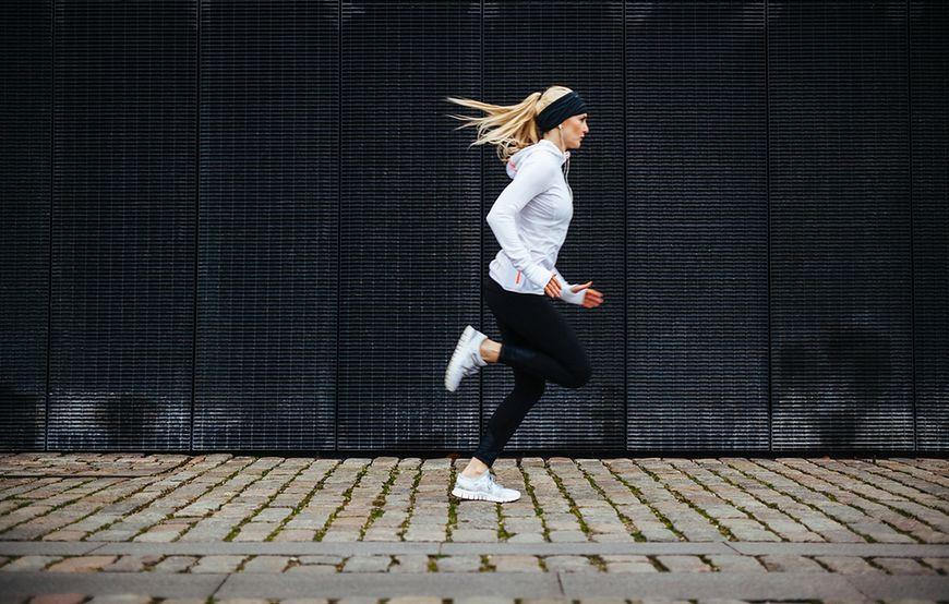 Trening biegowy/spacer