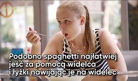 Jak najłatwiej jeść spaghetti? (WIDEO)