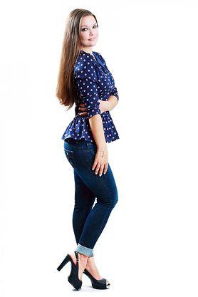 Jeansy, które ukryją wystający brzuszek