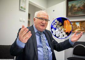 """Koronawirus. Amantadyna skuteczna w leczeniu COVID-19? Prof. Simon: """"To są brednie"""" (WIDEO)"""