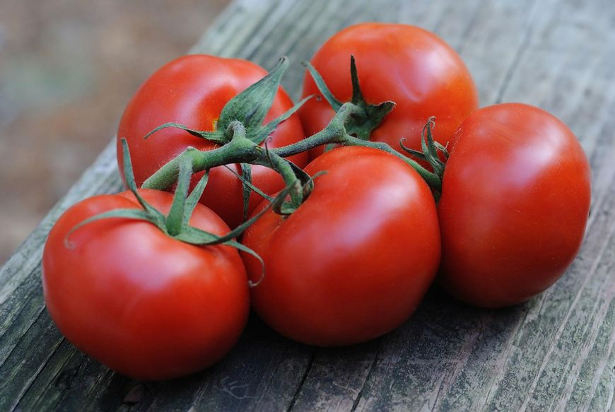 Czerwone warzywa i owoce