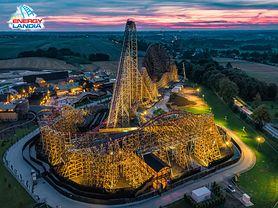 W Zatorze powstał najwyższy na świecie drewniany roller coaster!