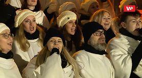 """Warszawiacy wspólnie śpiewają """"Last Christmas"""" (VIDEO)"""