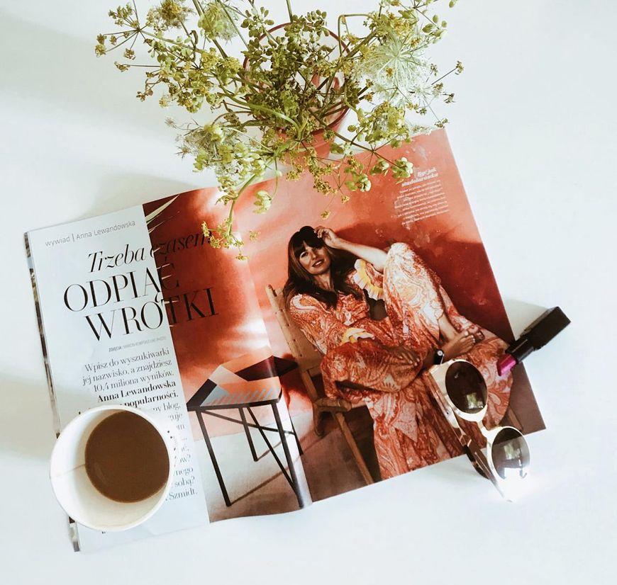 """Anna Lewandowska w magazynie """"Twój Styl"""""""